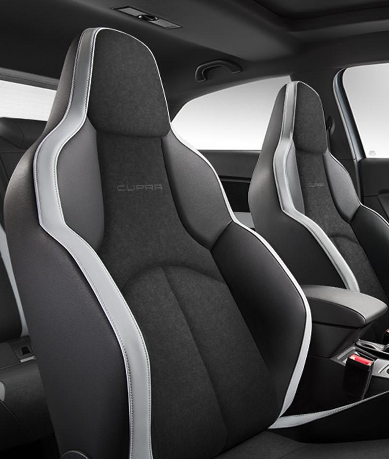 The new seat leon cupra for Seat ibiza cupra interior